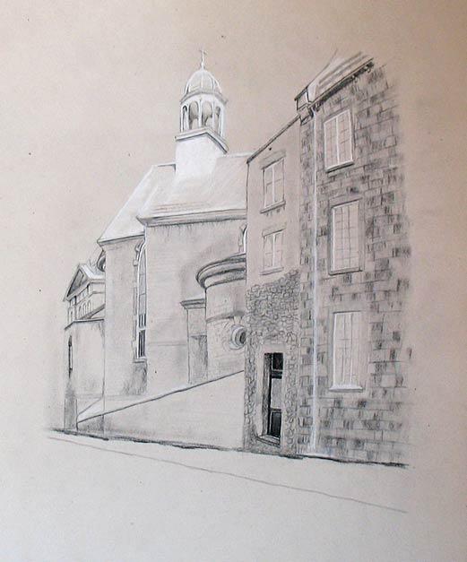 Québec City Sketch
